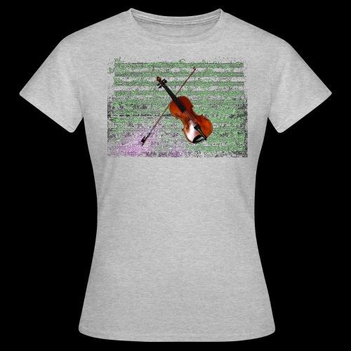 Violin - Women's T-Shirt