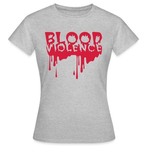 blood violence2 - Women's T-Shirt