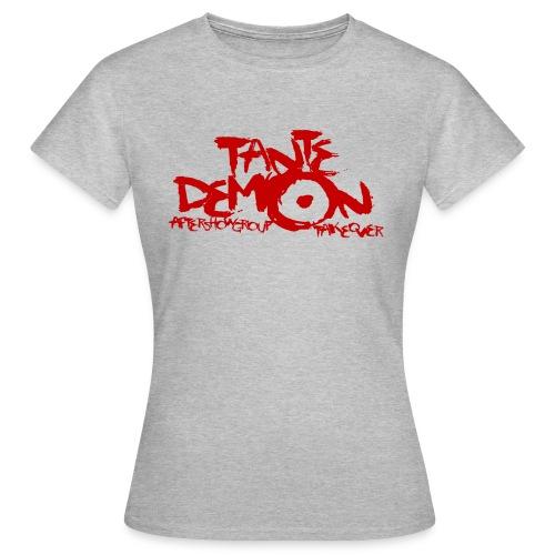 tante demon neu rot - Frauen T-Shirt