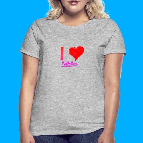 I Heart Potato T-Shirts - Women's T-Shirt