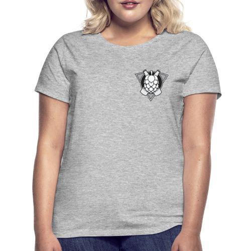 Mighty Hops Logo Black and white - T-shirt dam