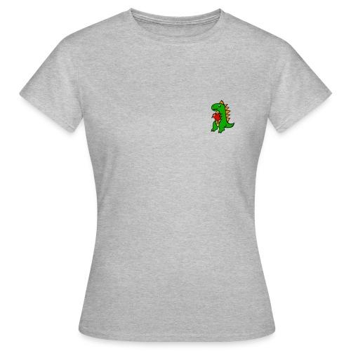 dino heart merch - T-shirt dam