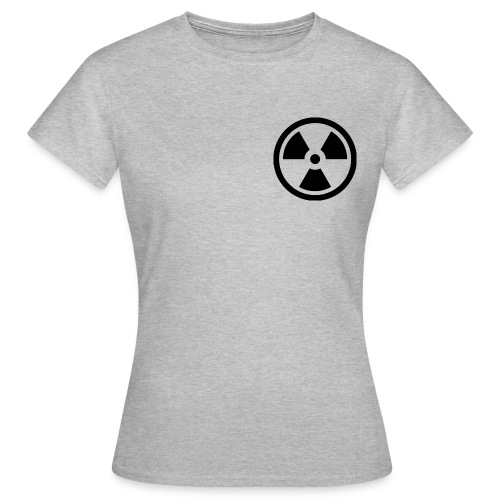 military bomb nuclear danger bomb radioactive - Women's T-Shirt