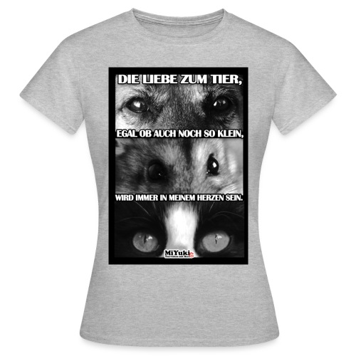 spruch jpg - Frauen T-Shirt