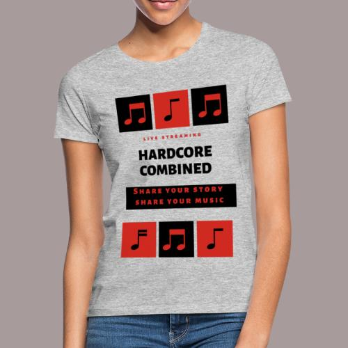 Share your story share your music - Vrouwen T-shirt