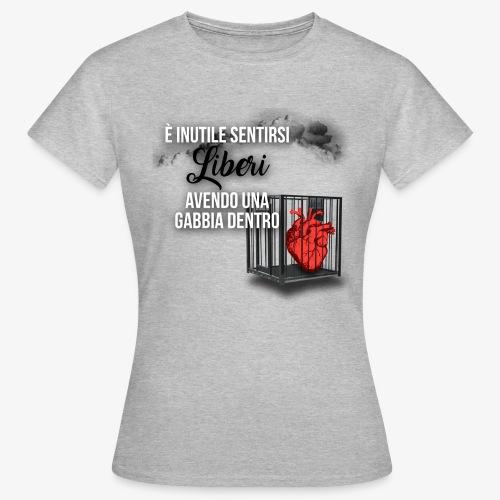Rap Art ITA BRAND - Maglietta da donna