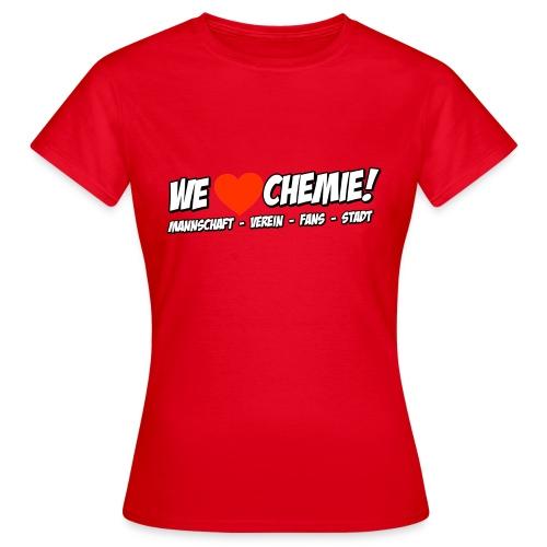 welove png - Frauen T-Shirt