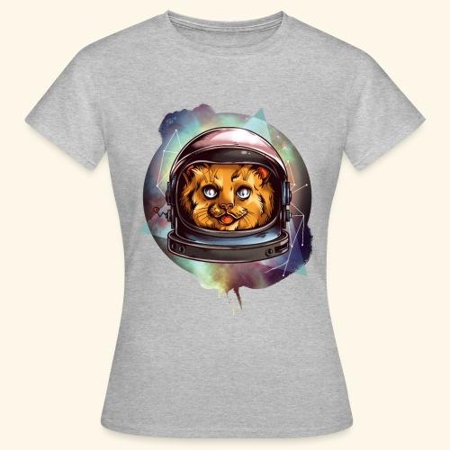 Space Katze - Frauen T-Shirt