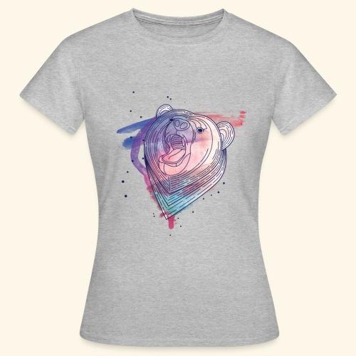 Moderner Bär - Frauen T-Shirt