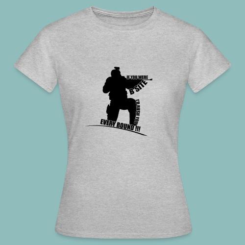 I'd rush you - Black Version - Frauen T-Shirt