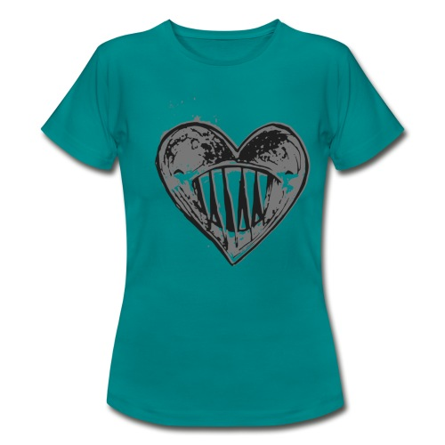 Corazón Negro - Camiseta mujer