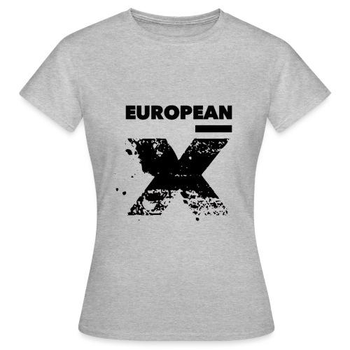 European X Black - Vrouwen T-shirt