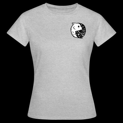 Ying Yang Pixelart - Frauen T-Shirt