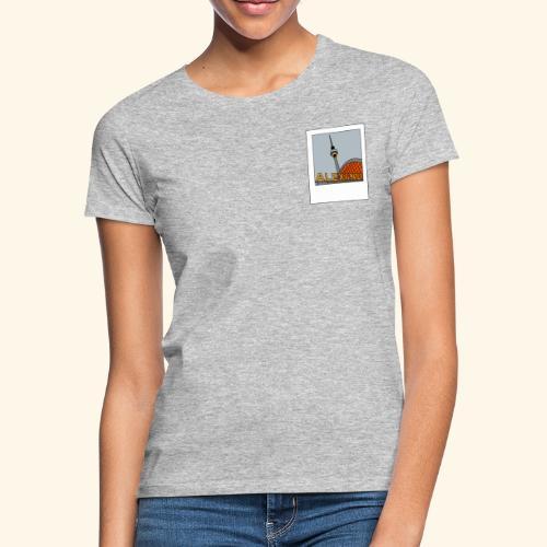 Polaroid graues Berlin - Frauen T-Shirt