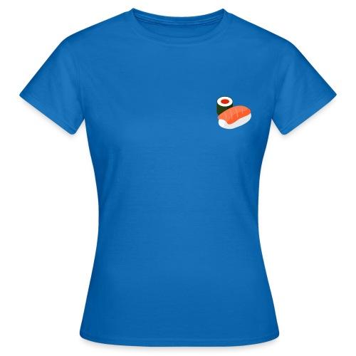 lax och rulle - sushi - T-shirt dam