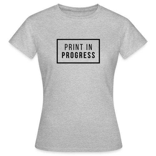 Print in Progress - Maglietta da donna