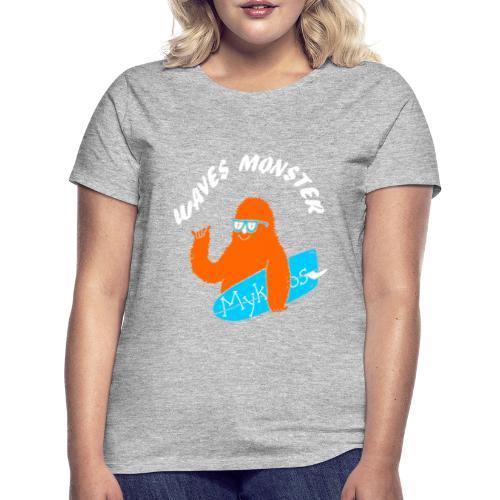 Waves Monster - T-shirt Femme