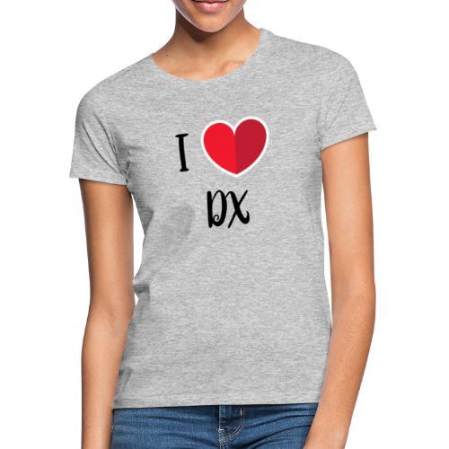 ilove dx black - T-shirt Femme
