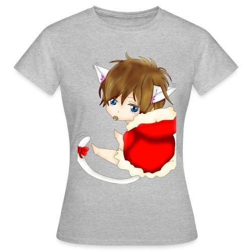 Cute Christmas Fox boy - Frauen T-Shirt