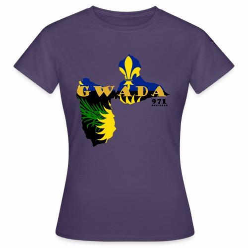 GWADA 971 OFFICIAL - T-shirt Femme