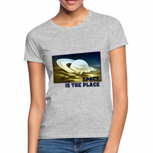 SPACE IS THE PLACE DEF RED BUBBLE 2 - T-shirt Femme