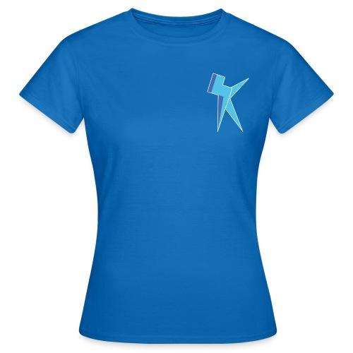 K Vlogs Logo - Vrouwen T-shirt