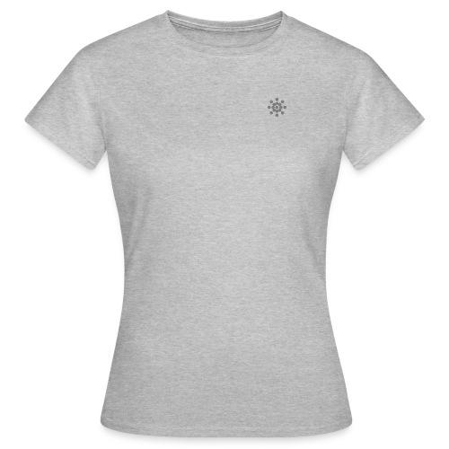 Aikido Ki Society Sun Logo Pure - Frauen T-Shirt