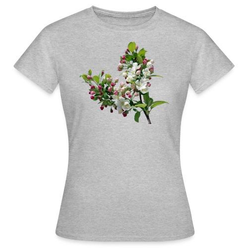 Frühling Apfelblüte - Frauen T-Shirt