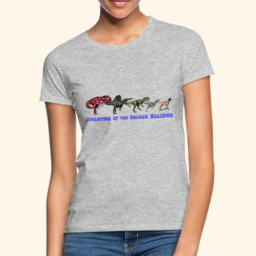 Evolution of the Belgian Malinois - Frauen T-Shirt