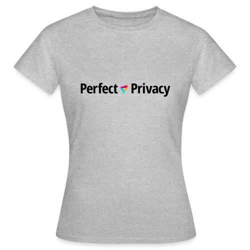 Perfect Privacy VPN black - Frauen T-Shirt
