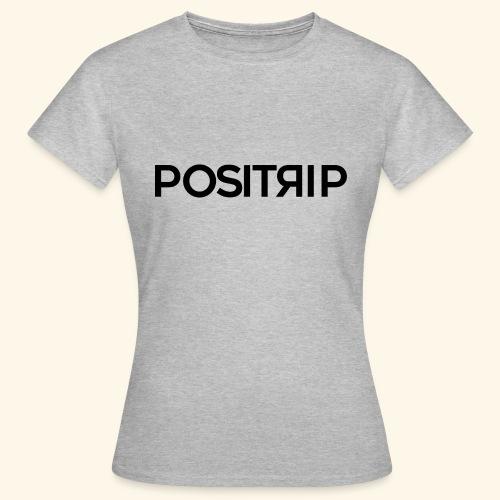 Positrip logo - Maglietta da donna