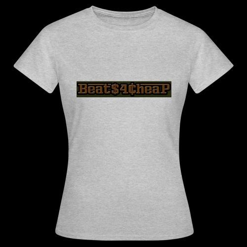 beats4cheap camo patt - Women's T-Shirt