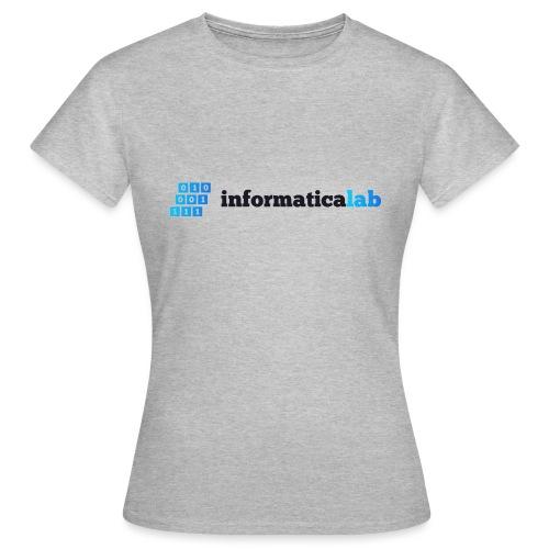 InformaticaLab logo for white background - Maglietta da donna