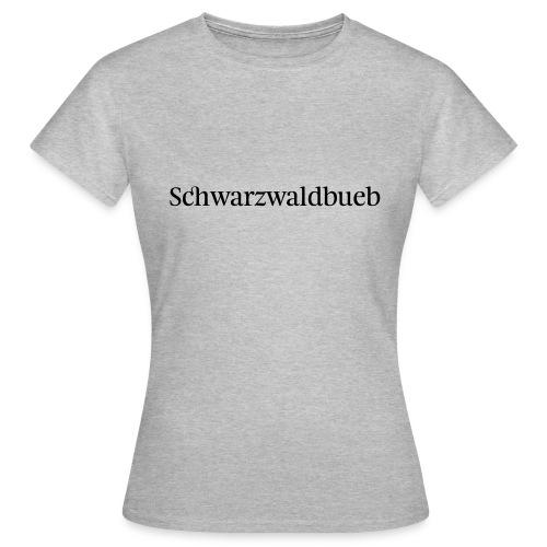 Schwarwaödbueb - T-Shirt - Frauen T-Shirt