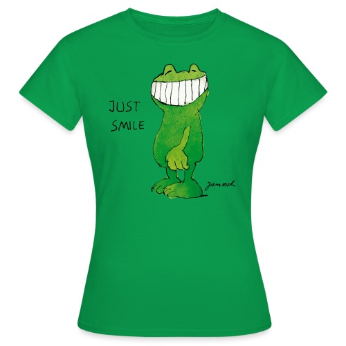 Janoschs Günter Kastenfrosch Just Smile - Frauen T-Shirt