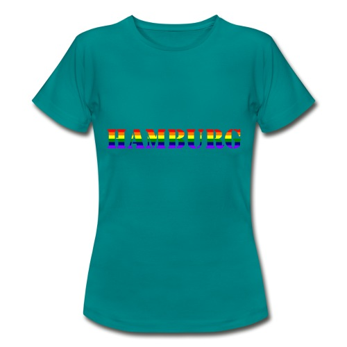 Hamburg Rainbow #1 - Frauen T-Shirt