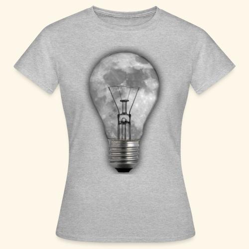 moon bulb - Camiseta mujer