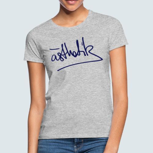 Handschrift Ästhetik - Frauen T-Shirt