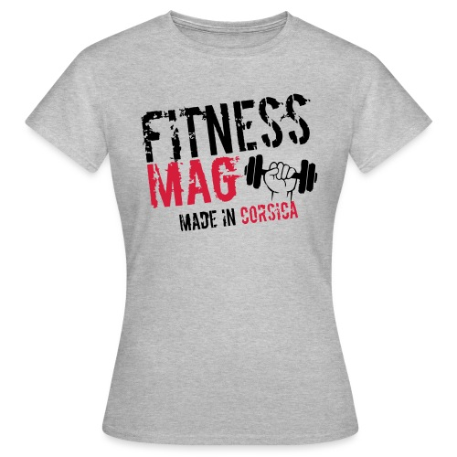Fitness Mag made in corsica 100% Polyester - T-shirt Femme