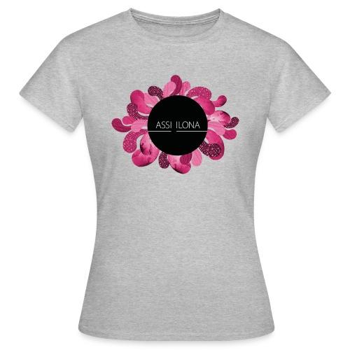 Naisten t-paita punaisella logolla - Naisten t-paita