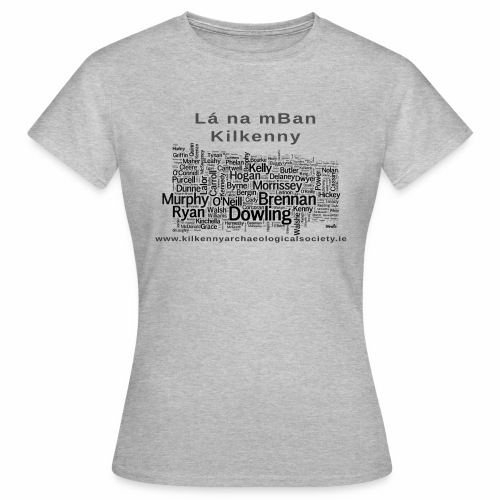 Lá na mBan black - Women's T-Shirt