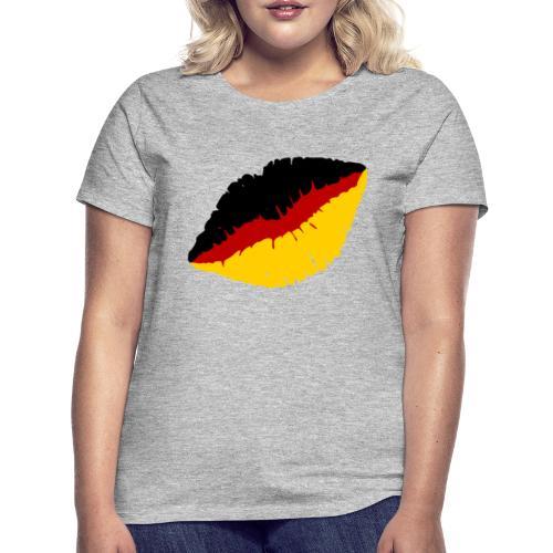Deutschland Lippen Motiv - Frauen T-Shirt