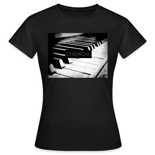 Piano black&White - Maglietta da donna