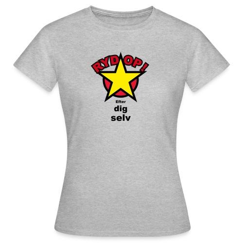 RYD OP det siger Maia figur 2a - Dame-T-shirt
