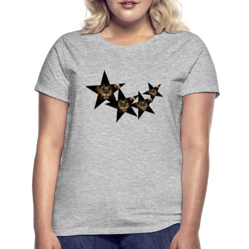leon estrellas camiseta - Camiseta mujer