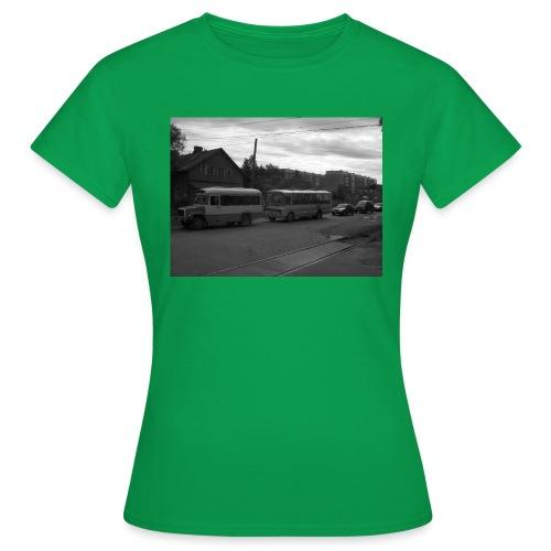 Aika on pysähtynyt Sortavalassa - Naisten t-paita