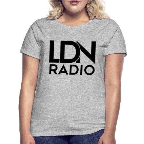 LDN Radio Logo black - Women's T-Shirt