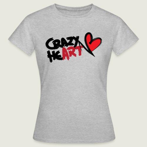 crazyheart - Maglietta da donna