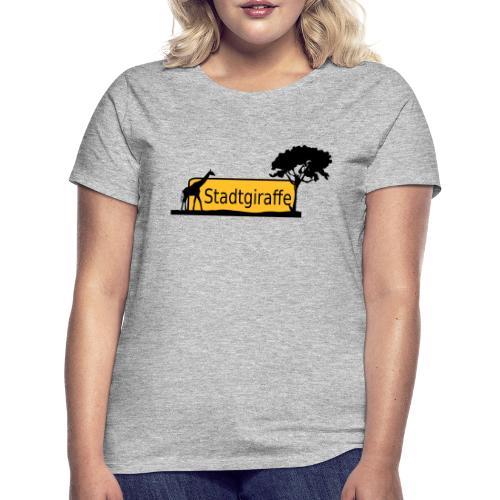 Stadtgiraffe - Frauen T-Shirt