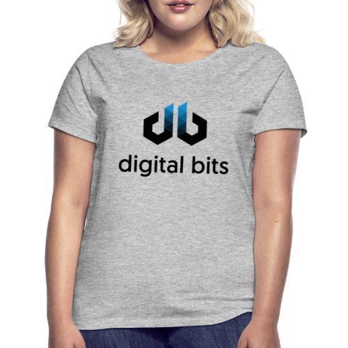 digitalbits Logo mit Schriftzug - Frauen T-Shirt